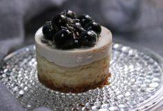 Blueberry Miniature Cheesecakes