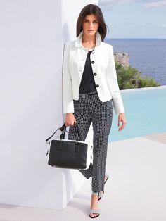 "Katarina Ivanovska In Spring Fashion Combinations For ""Peter Hahn"" ‹ ALL FOR FASHION DESIGN"
