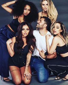 @marianovivanco: Love these girls…. Smelling Spicy!!! @littlemix ❌‼️