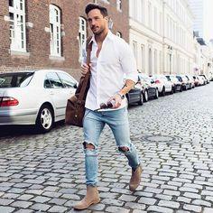 Magic Fox #Fashion #Art #inspiration #urban #Street #menswear #white #Model #Men #German Pinterest: Junior D-Martin