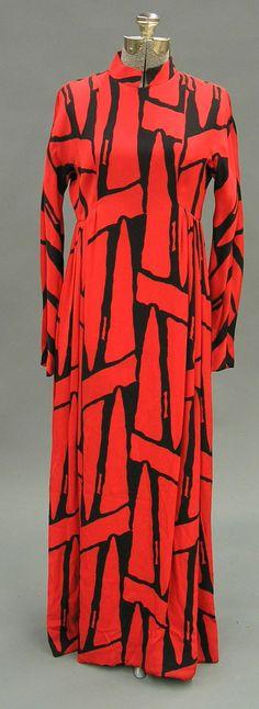 dress Geoffrey Beene : 1960s?