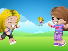 Me and Tati throwing around little Jacinda
