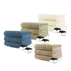 Biddeford Blankets® Micro Plush Heated Blanket - BedBathandBeyond.com