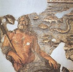 Oceanus was the Titan that ruled over all of the seas before Poseidon. After the titans were defeated Oceanus retreated to a deep deep part of the ocean and Poseidon took over as ruler of the seas