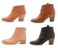 A CUP OF JO: Short boots for the fall