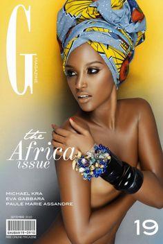 #wax, #ankara, #africanprint, #ethnotendance www.cewax.fr a sélectionné pour vous : magazine cover