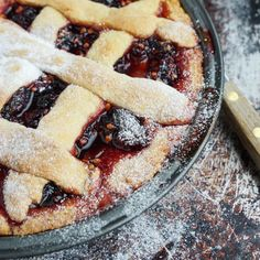 Seasonal Autumn mulberry and plum crostata makes a delicious, tempting and simple to prepare dessert by How to cook good food Mulberry Recipes, Personal Recipe, Small Cake, Cake Tins, Baking Recipes, Plum, Good Food, Food And Drink, Homemade