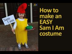 Easy Sam I Am Costume Tutorial — The Mom Creative