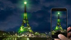 Le projet «One heart one tree» permettra d'acheter un arbre virtuel qui sera affiché sur la Tour Eiffel. (Crédits photo: DR).
