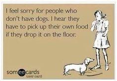 Food vacuum!  Woofwoof