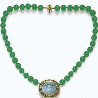 chrysoprase expensive necklace