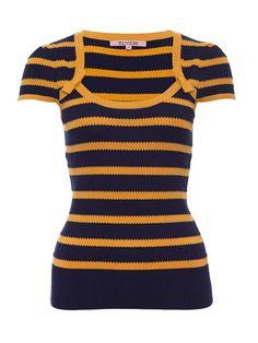 Petrina Top Cute Jumpers, Short Sleeves, Short Sleeve Dresses, Knitwear, Navy, Knitting, Pattern, Shirts, Tops