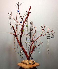 Jewelry Tree  Large Manzanita  1305 by RedBarkDesigns on Etsy