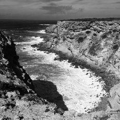 Parque Natural do Sudoeste Alentejanoe Costa Vicentina #aljezur #portugal #algarve #blackandwhite