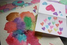 Happy Hooligans: Homemade Watercolor Paints: Vinegar, baking soda, corn syrup, corn starch, food coloring!