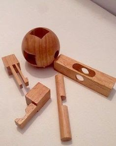23 Best Wooden Puzzles & Brain Teasers images in 2017 | Wooden