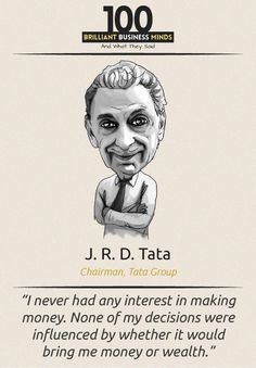 J R D Tata - Inspirational Quote