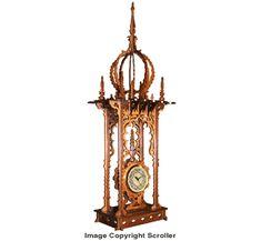 Oriental Timepiece Clock Project Pattern