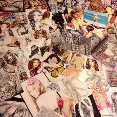 Drawings by Kristina Webb Amazing Drawings, Beautiful Drawings, Beautiful Artwork, Amazing Art, Art Drawings, Awesome, Kristina Webb Drawings, Kristina Webb Art, Art Journal Pages