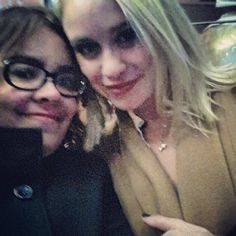 VictOoOriapr I met the amazing Becca Tobin. She is so cute. #paris #happy #glee