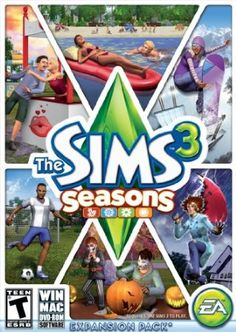 Let your Sims swim in the ocean on a hot summer day, bob for apples in the autumn leaves, test their snowboarding skill on the half pipe, or welcome spring showers with a walk in the rain and a colorful umbrella. All-new activities, like soccer, and big seasonal festivals and celebrations bring the spirit of each season to life. Price: $39.96