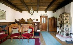 Transylvania holidays accommodation at Prince Charles guest house Dumfries House, Small Cottages, Royal Residence, Holiday Accommodation, Cottage Interiors, Entry Hall, Country Estate, Large Homes, Prince Charles