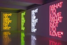 #wayfinding and #signage. MAURIZIO NANNUCCI'S TEXT INTERVENTIONS
