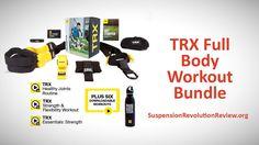 TRX Full Body Workout Bundle - TRX Home Suspension Bands. Watch it on YouTube https://youtu.be/FBdQr36DkcI