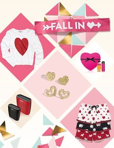 Fall in love. Valentine's Day gifts for women and men.