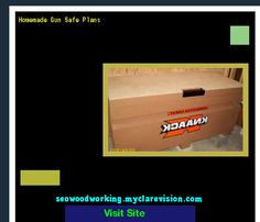Homemade Gun Safe Plans 195212 - Woodworking Plans and Projects!