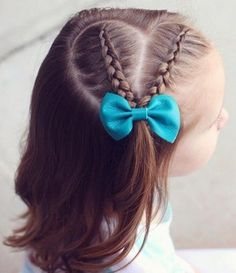 17 trendy Ideas for baby girl hairstyles tutorial Girls Hairdos, Baby Girl Hairstyles, Princess Hairstyles, Trendy Hairstyles, Braided Hairstyles, Toddler Hairstyles, Heart Hairstyles, Childrens Hairstyles, Cute Little Girl Hairstyles