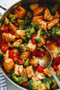 Meat And Vegetable Diet, Chicken Vegetable Stir Fry, Healthy Chicken Stir Fry, Fried Chicken Recipes, Chicken And Vegetables, Fresh Vegetables, Stir Fry Vegetables, Pineapple Chicken Stir Fry, Chicken Bell Pepper Recipes