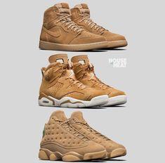 Air Jordan Wheat Collection Air Jordan Schuhe, Air Jordan Retro, Fashionista Trends, Fallen Outfits Für Die Arbeit, Winter-outfits, Lässige Mode, Jordan Retro