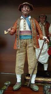 Risultati immagini per personaggi del presepe napoletano