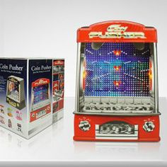 $104.31 High Quality Coin Cascade Penny Falls Pusher Game Machine