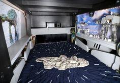 atat bed inside