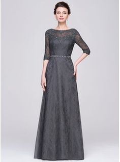Mother of the Bride Dresses - $199.99 - A-Line/Princess Scoop Neck Floor-Length Tulle Lace Mother of the Bride Dress With Beading Sequins  http://www.dressfirst.com/A-Line-Princess-Scoop-Neck-Floor-Length-Tulle-Lace-Mother-Of-The-Bride-Dress-With-Beading-Sequins-008058426-g58426