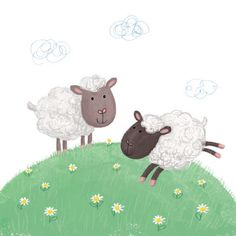 Sheep © Sharon Harmer moo-art