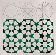 "خاتم or ""ring"" is the name used in zellij making for the eight-pointed star shape. This shape can be paired with a cross shape to create a ..."