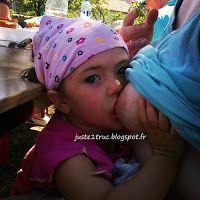 Allaitement bambine 28 months Breastfeeding LLL