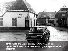 Hoek Sterrebosweg, Spoorstraat, Wijchen Holland, Places, Nostalgia, The Nederlands, The Netherlands, Netherlands, Lugares
