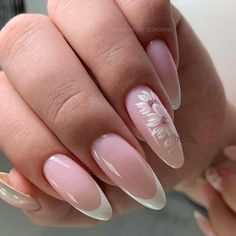 Glitter French Nails, French Tip Acrylic Nails, French Manicure Nails, French Nail Art, Square Acrylic Nails, Almond Acrylic Nails, French Nail Designs, Oval Nails, Best Acrylic Nails