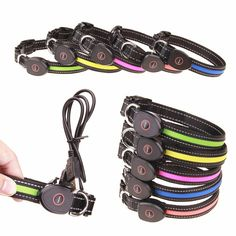 Dog Collar USB Rechargeable For Pets - Welpepy.com