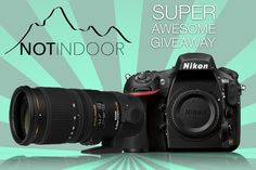 Are You A Photographer? How About A Brand New DSLR? No purchase necessary to enter or win. A purchase will not improve your chances of winning. NOTINDOOR Photography Magazine, is all about supporting photographers so we want to give one lucky photographer a brand new DSLR and lens. Spread the word and you can win:  Nikon D810 Sigma lens 70-200mm f/2.8  Good luck