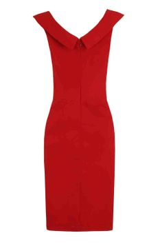 Paper Dolls Red Folded Bustier Dress £56 Shop here> www.retailtherapyfashion.com NOW £30