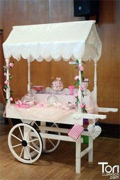 Sweet Dreams Candy Cart Home Wedding Carts