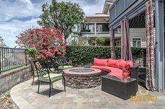 patio warehouse designed built this backyard remodeling job