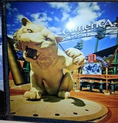 See this and more on our gallery sale! Detroit Art, Detroit Tigers, Photo On Wood, Photo Art, Tiger Art, Custom Framing, Wall Art Decor, Michigan, Gallery