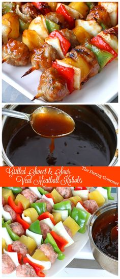 Grilled Sweet & Sour