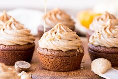 The Best 30+ Healthy Pumpkin Recipes • Bakerita More Cupcakes, Editorial Photography, Photography Magazine, Cupcake Recipes, Chai, Muffin, Frosting, Food Porn, Going Paleo